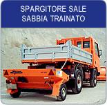 Spargitore Sale Sabbia Trainato